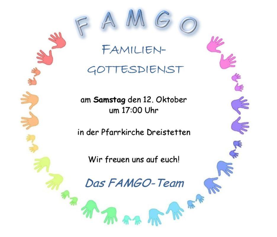 FAMGO - Einladung zum Familiengottesdienst